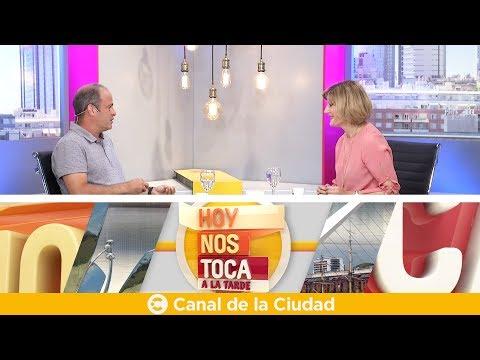 """<h3 class=""""list-group-item-title"""">Entrevista mano a mano con Sebastián Blutrach en Hoy nos toca a la Tarde</h3>"""