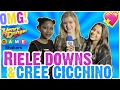 Riele Downs & Cree Cicchino Talk Valentines (Jace Norman?) & Henry Danger Set Visit