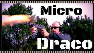Micro Draco Romanian AK-47 Pistol Review (HD)