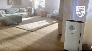 Очиститель воздуха Philips AC3256 с технологией AeraSense