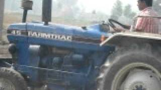 iam driving tractor in punjab