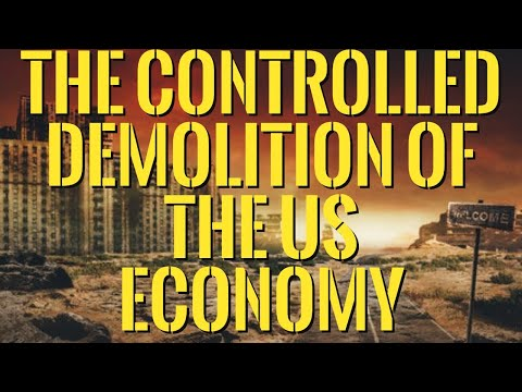?The Controlled Demolition of the US Economy - Unemployment, Debt, Poverty,Homelessness Skyrocketing