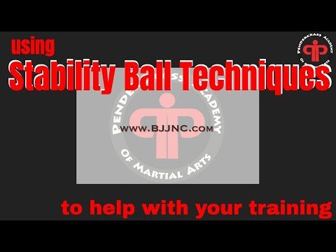 This Weeks How To: Stability Ball - Solo Training for BJJ, Wake Forest NC
