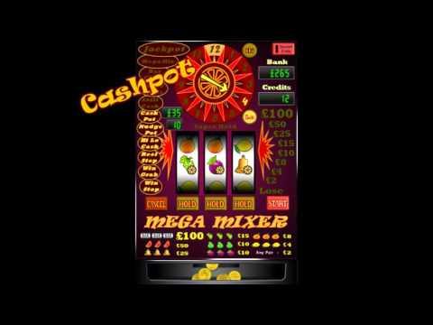 Mega Mixer Slots gameplay