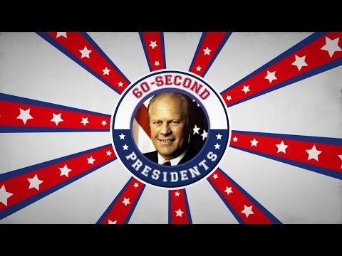 Gerald Ford | 60-Second Presidents | PBS