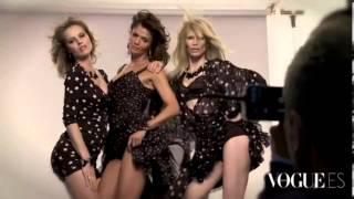 Claudia Schiffer, Eva Herzigova y Helena Christiensen   Vogue Spain September 2011 2