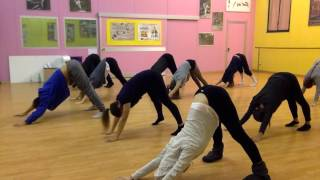 WARM UP MODERN dance class 2016