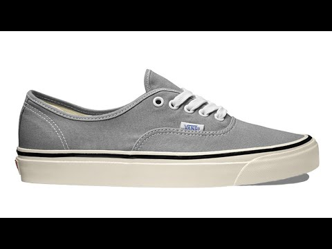 "Shoe Review: Vans ""Anaheim Factory"" Authentic 44 DX (Light Grey)"