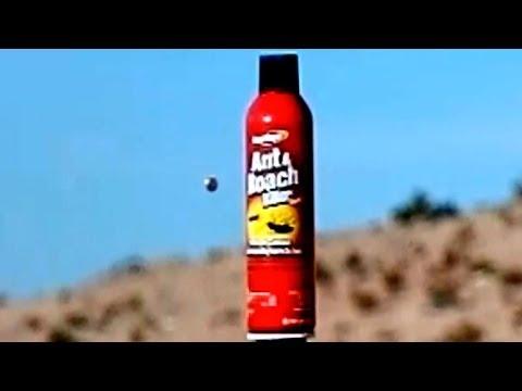 Slow Motion Bullets/Target Explosions 45 40 22 223 Caliber 300/600fps V13351