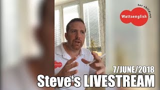 Steve's LIVESTREAM | Learning disabilities, speech delay, autism
