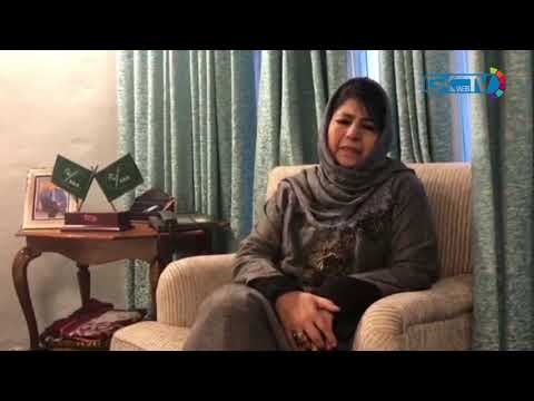 Mehbooba calls for safety of Kashmiris in Jammu, other states