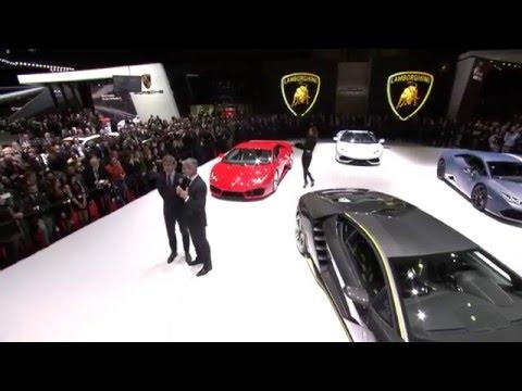 Lamborghini Centenario: 2016 Geneva Motor Show Press Conference
