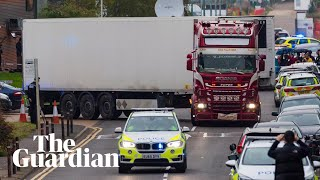 Essex murder investigation: CCTV shows lorry on night before it was discovered