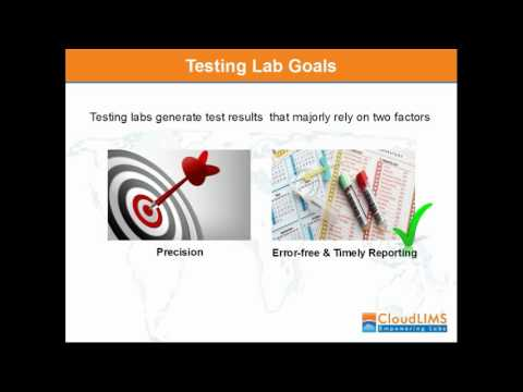 LIMS Webinar: Manage Testing and Laboratory Workflows with LIMS