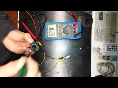 Testing flow switch