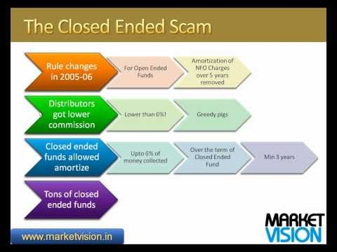 open ended and closed ended funds