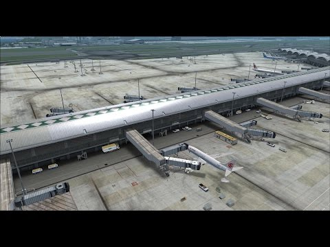PMDG 777 Korean air 604 Hong Kong to Seoul on vatsim Hong Kong FIR,fsx,fs2crew