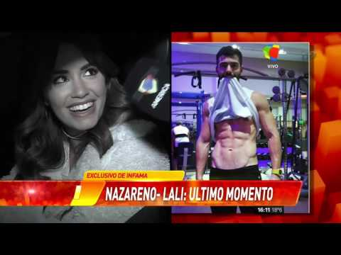 ¡Mirá  cómo describió Nazareno Casero a Lali Espósito!
