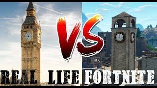 FORTNITE ORTE IN REAL LIFE #Battle Royale #NSG (Deutsch)(HD+)
