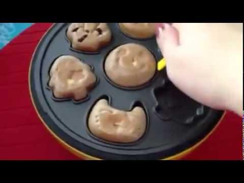 Máy nướng bánh hình thú Mini cacke machine Magin