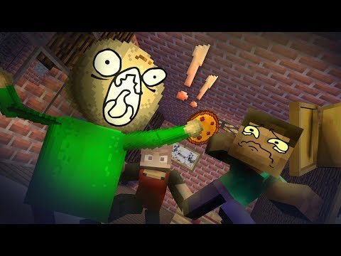 Monster School Special : Baldi Life Story - Minecraft Animation