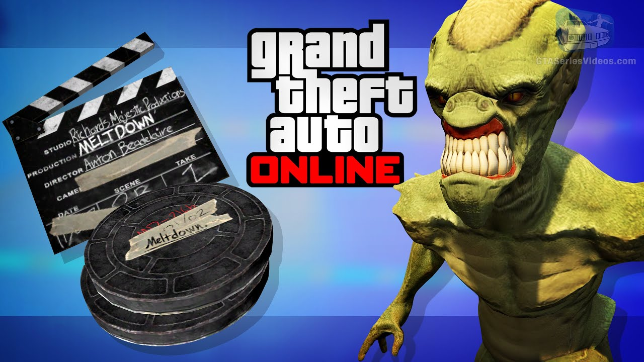 GTA Online - All 10 Movie Props Locations [How to unlock Alien Outfit]