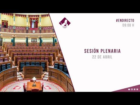 Directo 📹 Sigue, en vídeo, el debate de la prórroga del estado de alarma