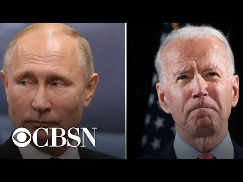 Biden authorizes sweeping sanctions against Russia