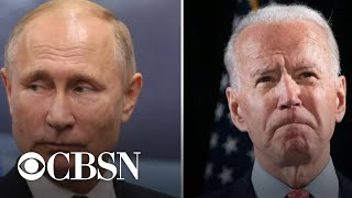 Biden authorizes sweeping sanctions against Russia