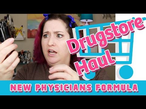 New Physicians Formula! Try On First Impressions | Drugstore Haul