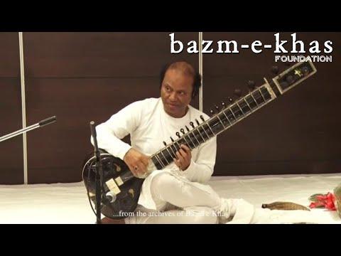 Raag Chandni Kedar   Ustad Nishat Khan   Sitar   Bazm E Khas   Live Concert