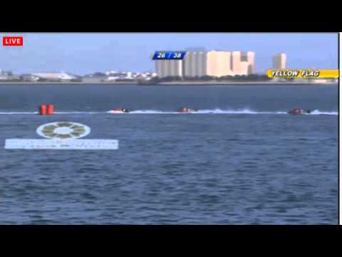 F1 H2O Powerboat 2015 Round 1 Qatar, Doha (ENG) FULL RACE