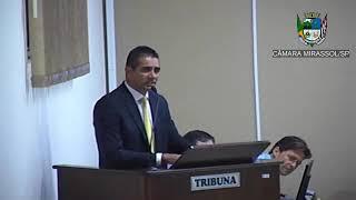8ª Sessão Ordinária - Vereador Sérgio Leiteiro