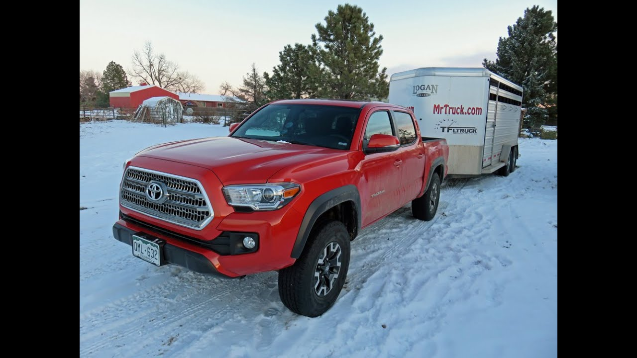 Toyota Tacoma 2016 Review Off Road Trailering Trail Riding In The Rockies You