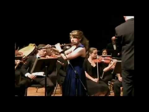 Mimi Stillman, flute  Shulamit Ran's
