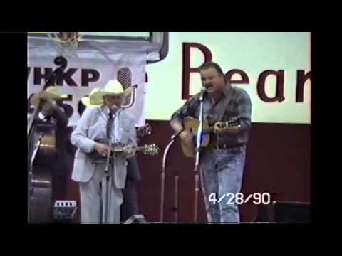 Bill Monroe and Mark Kuykendall - Little Cabin Home on the Hill