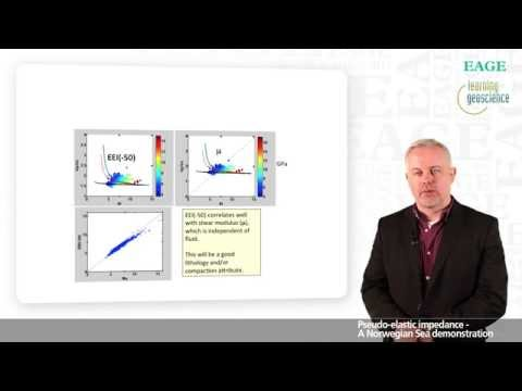 EAGE E-Lecture: Pseudo-Elastic Impedance by Per Avseth