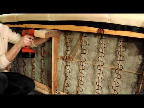 Diy How To Repair A Broken Couch Sofa Add Legs Sectional
