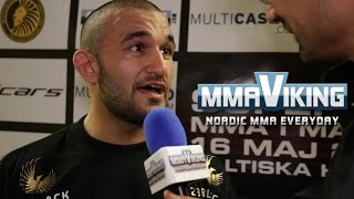 Michel Ersoy Superior Challenge 12 Post Fight Interview