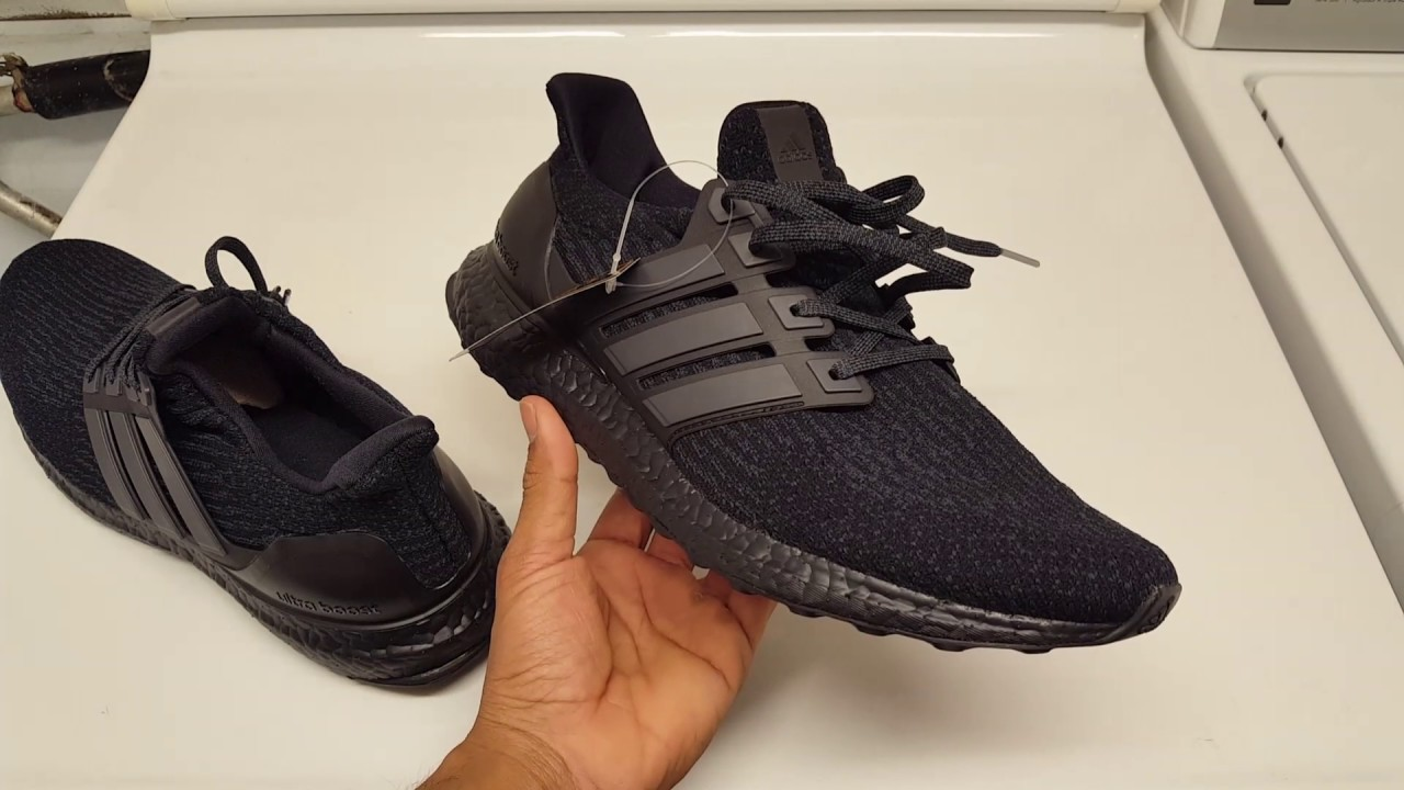 0a84defbfe6 Fake Triple Black Adidas Ultraboost 3.0?