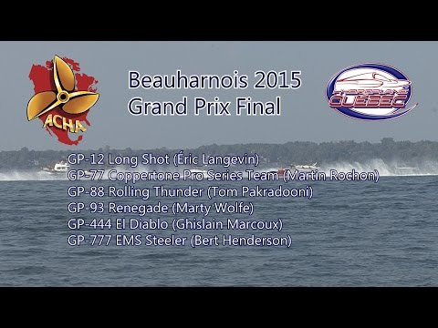 Beauharnois 2015 Grand Prix Final