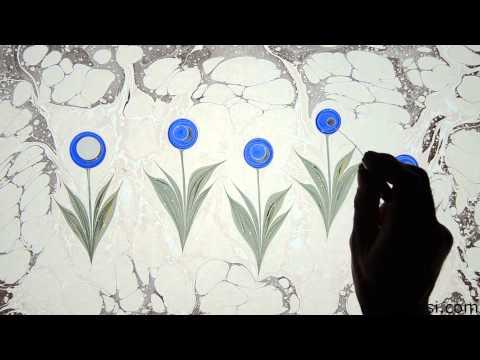 Ebru Sanatı - Kubilay Eralp Dinçer - Lale Ebrusu - 1080p