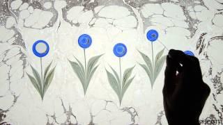 Ebru Sanatı - Kubilay Eralp Dinçer - Lale Ebrusu - 1080p Hd