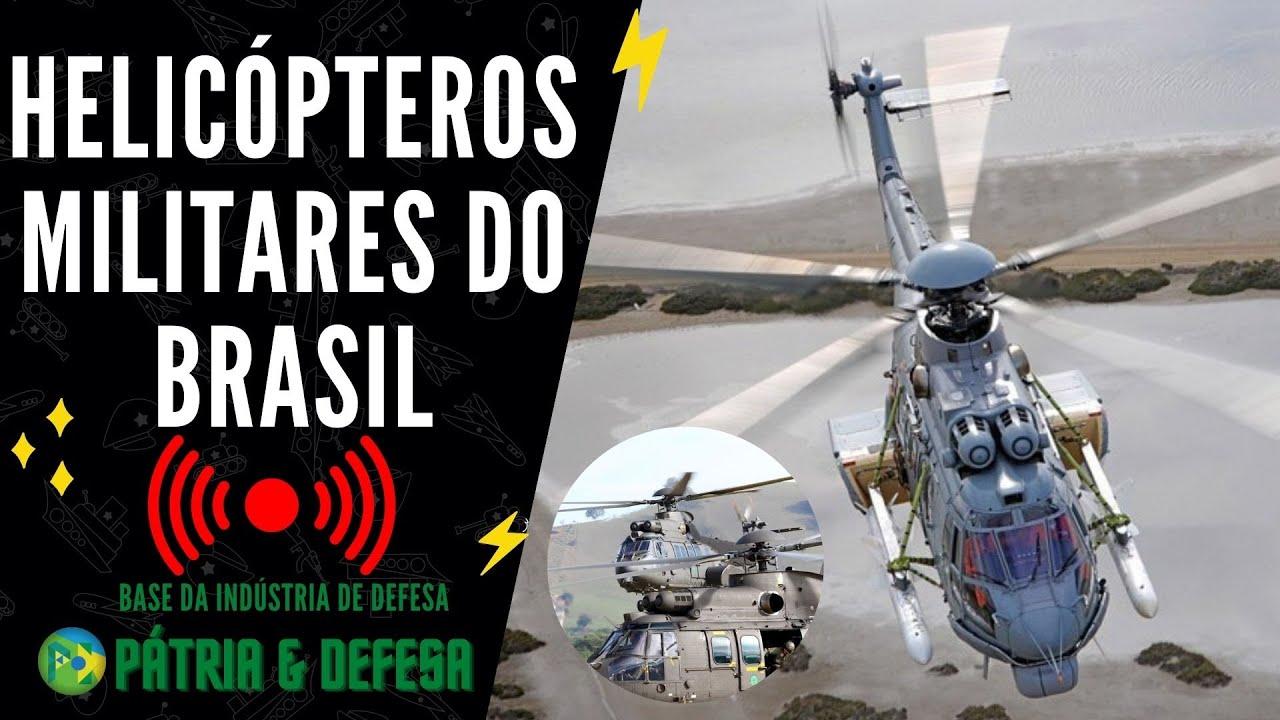 Helicópteros Militares do Programa H-XBR - Fabricados No Brasil e Utilizados Pelas Forças Armadas!