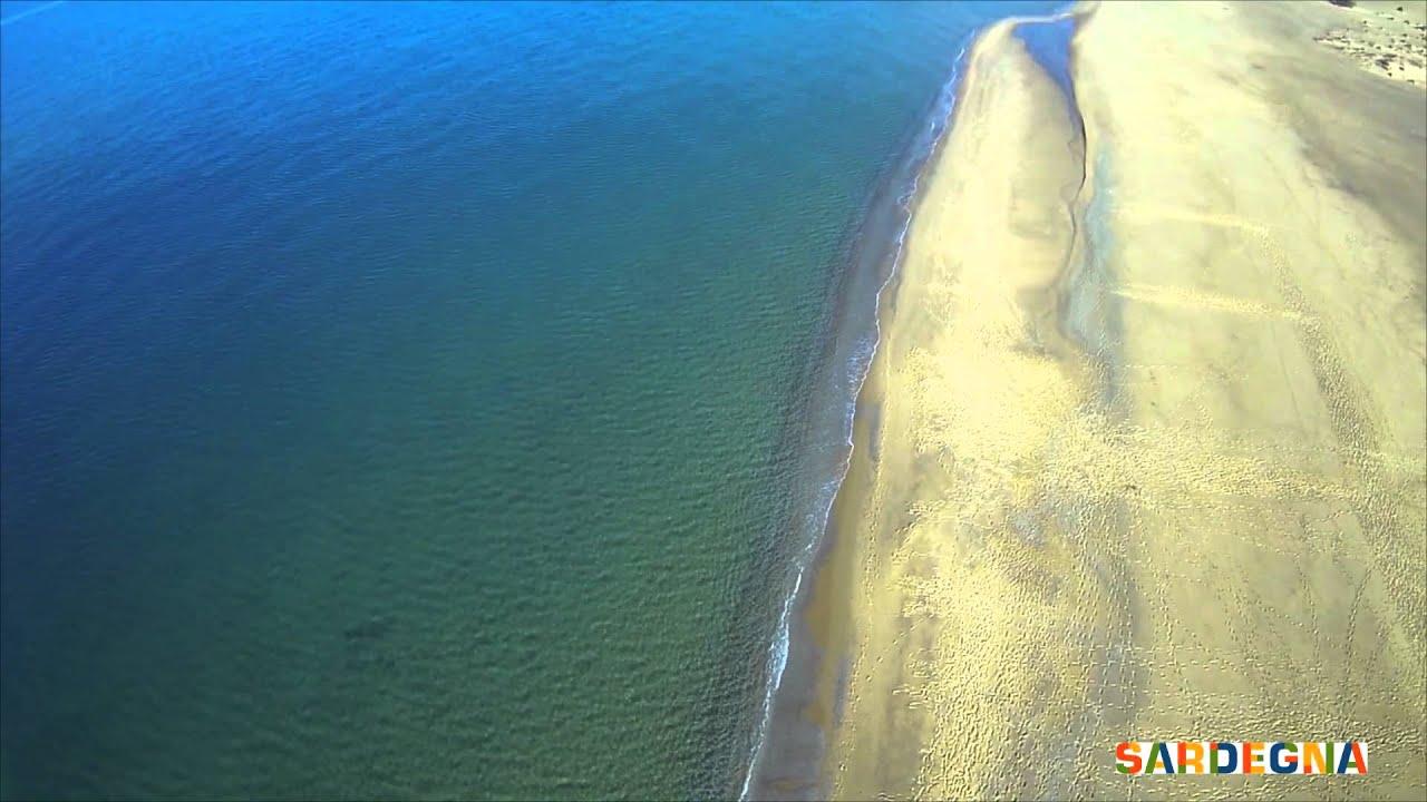 In volo sulle Dune di Piscinas il deserto della Sardegna  YouTube