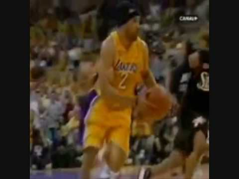 Derek Fisher Career Dunk Mix *Rare*