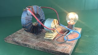 Free energy device generator magnet coil using Dc motor 100% | Science technology new idea project