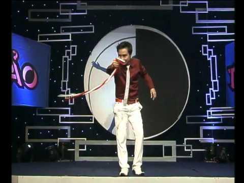 Ảo thuật gia Vũ An với 02 sợi dây ma thuật