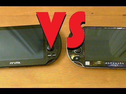 PS Vita VS PS Vita Slim - A Comparison