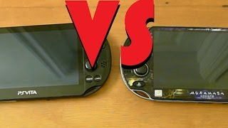 PS Vita VS PS Vita Slim - A Comparison